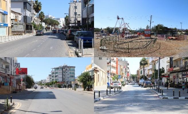 Bayramda sokaklar ve caddeler bu kadar boş kaldı