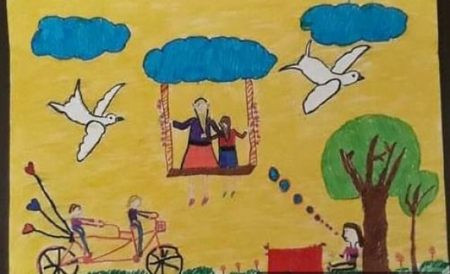 """""""Canım Annem Resim ve Karikatür Yarışması"""" sonuçları belli oldu"""