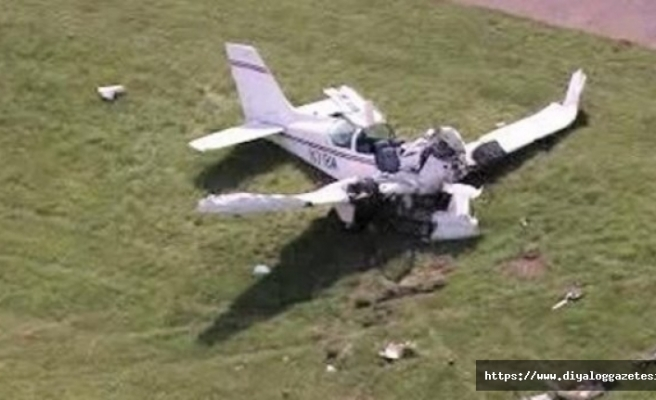 Endonezya'da küçük uçak düştü
