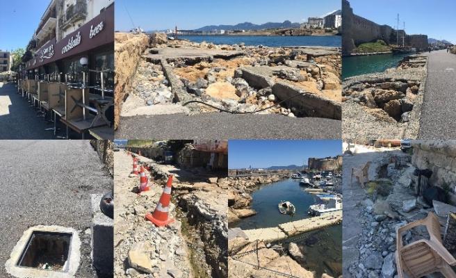 Girne Antik Limanı isyan ediyor