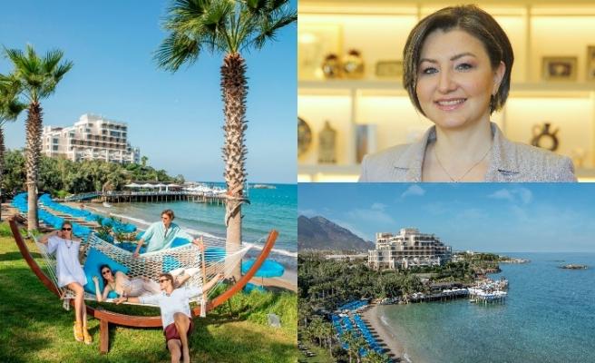"""Hande Tibuk """"Yeni normalleşmede tatilin yıldızı Kuzey Kıbrıs olacak"""" dedi"""