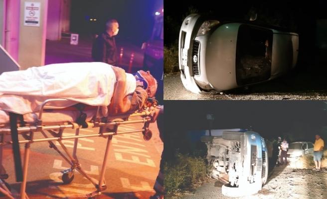 Hüseyin Angolemli, Çayırova yakınlarında kaza geçirdi
