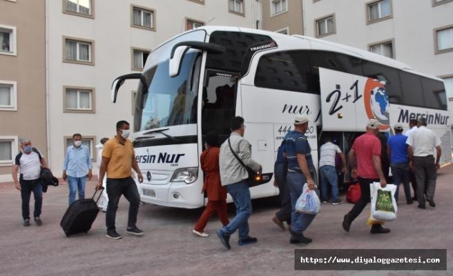 KKTC'den giden 173 tarım işçisi Adıyaman'a ulaştı
