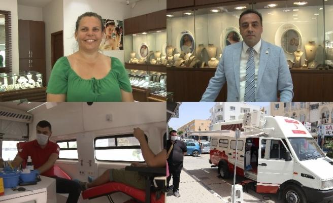Lefkoşa'da 'Kan ver, hayat kurtar' sloganıyla bağış kampanyası düzenlendi