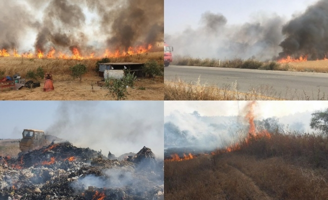 Ülkenin 4 bir yanında yangın... Neler oluyor?