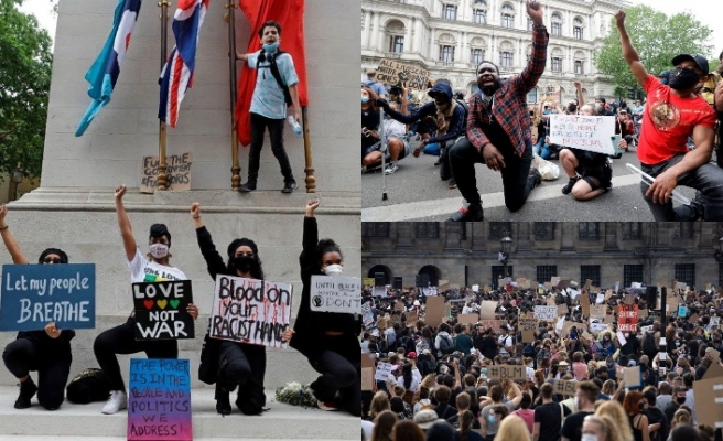 ABD'de, İngiltere ve Hollanda'da protesto edildi