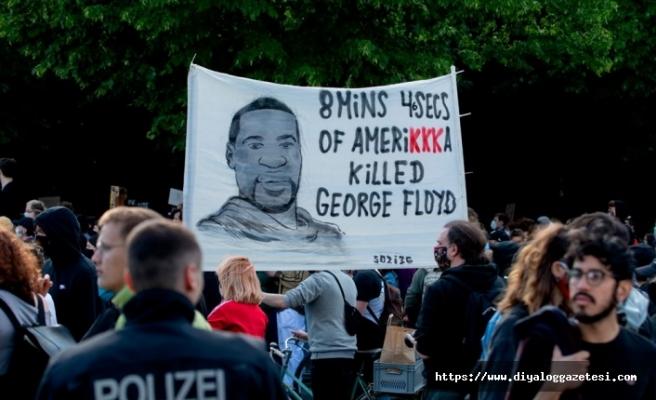 ABD'deki ırkçılık karşıtı gösteriler dünyaya yayıldı