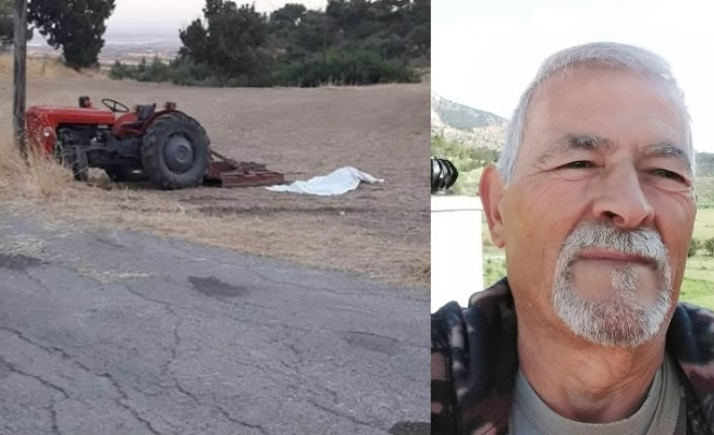 Ali İzmirli, traktör kazasında hayatını kaybetti