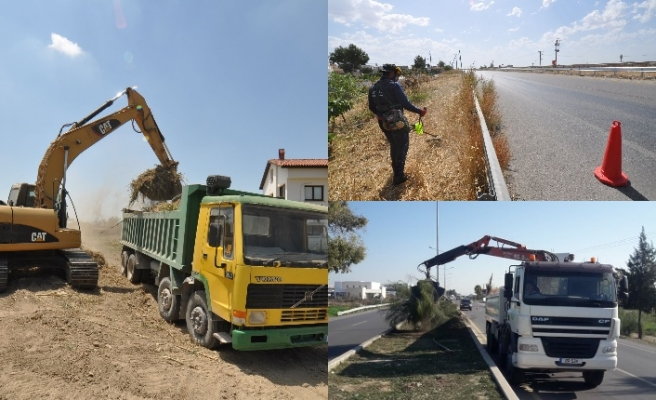Değirmenlik Belediyesi temizlik seferberliği gerçekleştirdi