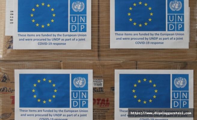 Güney'e 2.7 milyar Euro, Kuzey'e malzeme yardımı