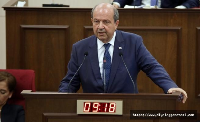 Tatar'dan Akıncı'ya gönderme