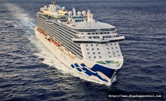 Dünyaca ünlü kruz gemileri Limasol'da