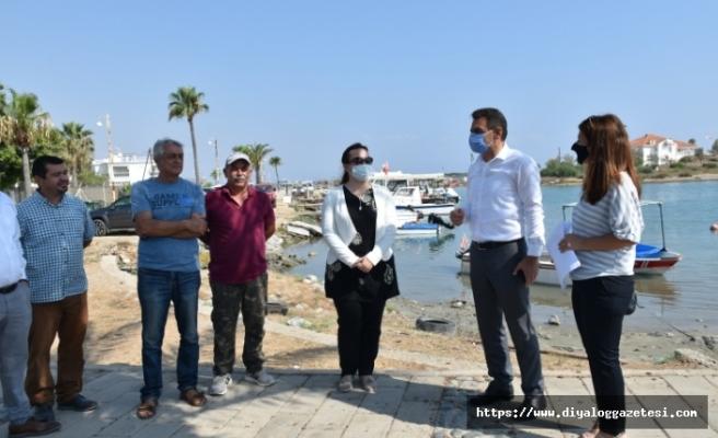Laguna Balıkçı Barınağı TİKA'nın desteğiyle yapılandırılıyor