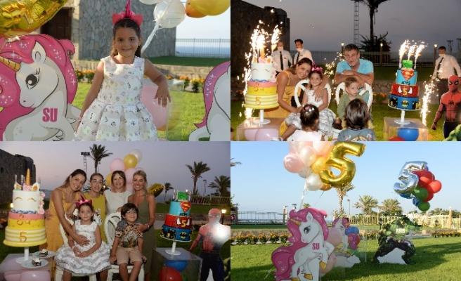 Merit Park'ta Su ve Ateş'e muhteşem doğum günü partisi
