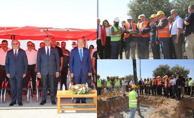 Türk Maarif Koleji binasının temeli atıldı