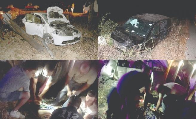 Biri çocuk 3 kişi yaralandı