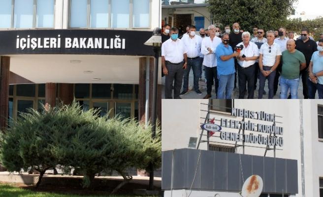 EL-SEN, İçişleri Bakanlığı'nın elektriğini kesti