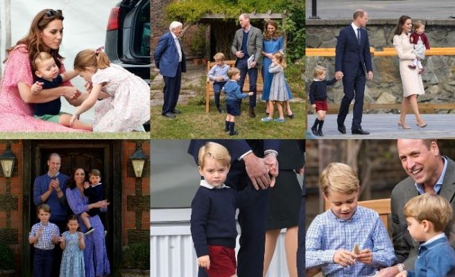 Kraliyet Ailesi'nin çocukları eski giysilerle büyüyor