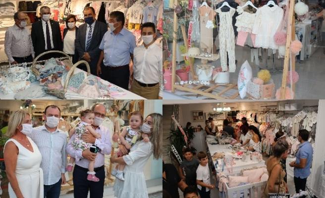 'Lui Berry' çocuk mağazası Lefkoşa'nın Yenikent bölgesinde hizmete girdi