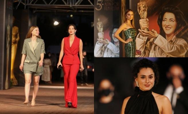Altın Portakal Film Festivali'ne kırmızı halı geçişi damga vurdu