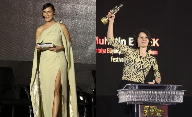 Antalya Film Festivali'nde Altın Portakal Ödülleri sahiplerine verildi