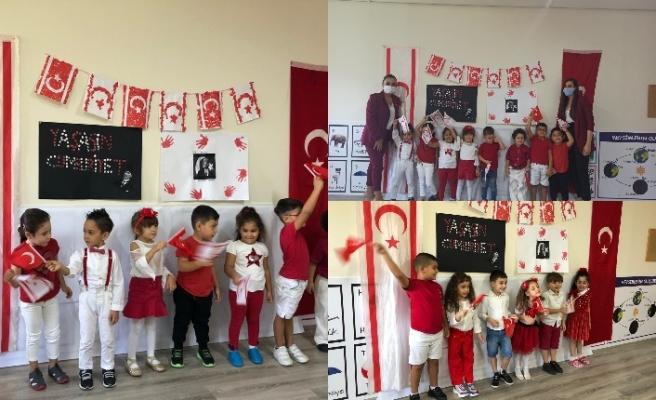 Arıkovanı Kreş ve Anaokulu'nda muhteşem 29 Ekim kutlaması