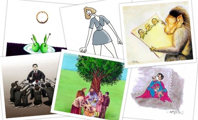 Uluslararası Zeytin Karikatürleri ve Mizah Sergisi devam ediyor