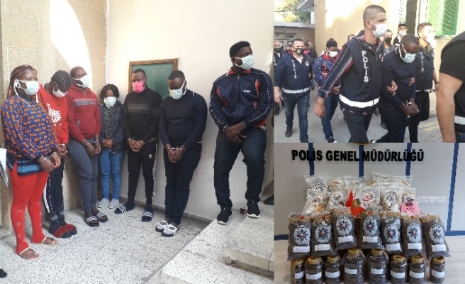 Kamerun'dan adaya 16 kilo uyuşturucu