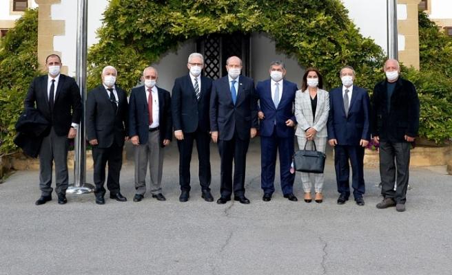 Tatar, LAÜ heyetini çalışmalarından dolayı kutladı