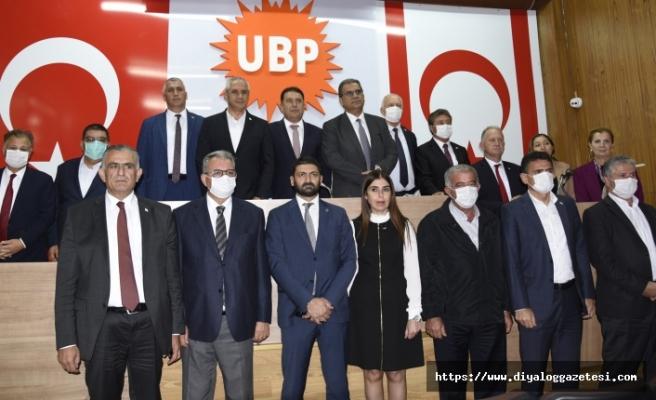 UBP'de 'şok' gelişme