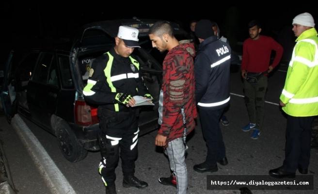 3 sürücü tutuklandı