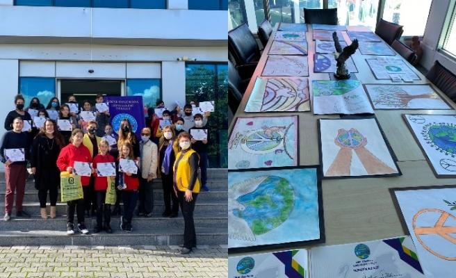 Amerikan Koleji ve Girne Özgürada Lions Kulübü iş birliğinde resim yarışması düzenlendi