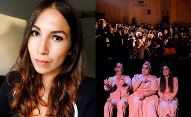 Kıbrıs Türk Devlet Tiyatrolarının 'Gocasını Bişiren Gadın' oyunu seyircisiyle buluştu
