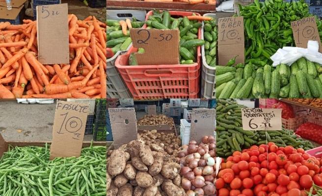 Pazarın en ucuzu ürünü salatalık