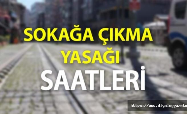 SOKAĞA ÇIKMA YASAĞI İLAN EDİLDİ.!