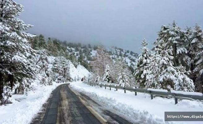 Trodos'a kar yağacak