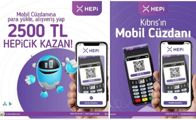 HEPi mobil cüzdan ile alışveriş ve para transferinde yeni bir dönemi başlıyor!