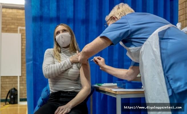 İngiltere'de 30 milyondan fazla kişi aşılandı