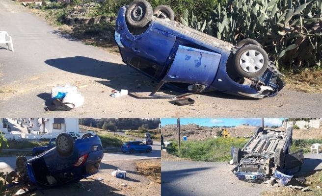 425 promille araç kullandı boynu kırıldı