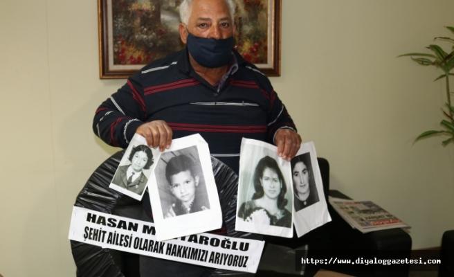 Devletin, ailesine yardım etmesini istedi