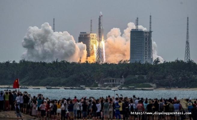 Çin'in roketi her yere düşebilir