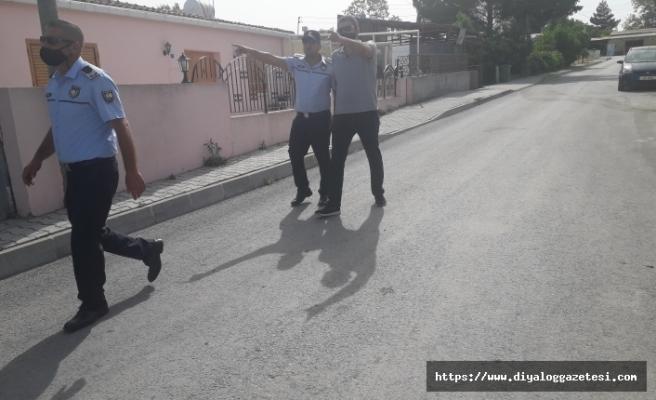 Cinsel saldırı iddiası, polis köyü bastı