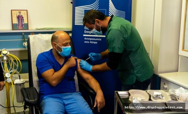 Güney'de nüfusun yüzde 56,5'i ilk doz aşısını oldu