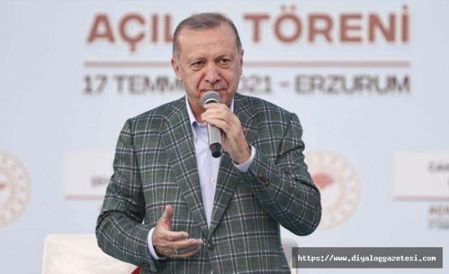 Erzurum'dan haber verdi