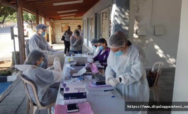 Bir günde 252 kişi aşılandı
