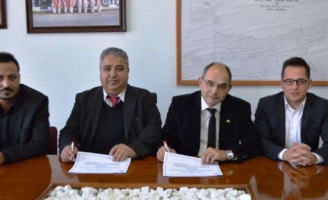 Alayköy'de toplu  sözleşme imzalandı