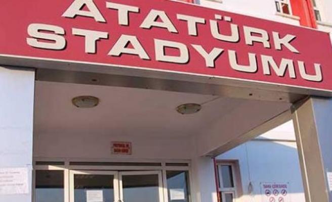 Atatürk Stadı bakımda