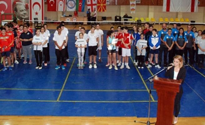 Badminton heyecanı