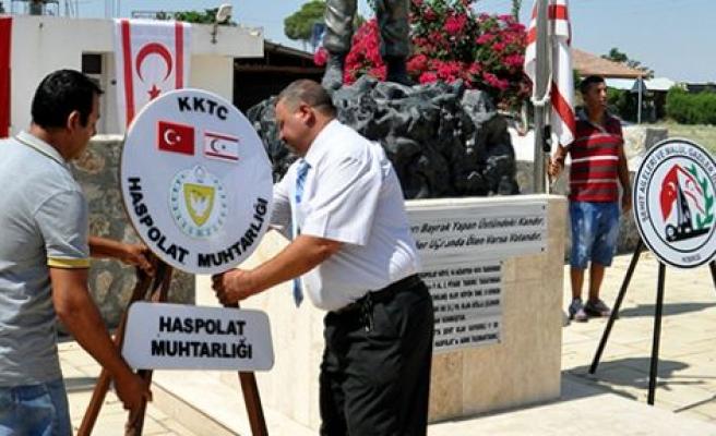 Barış harekâtının ikinci safhasında Haspolat'ta Şehit düşenler anıldı