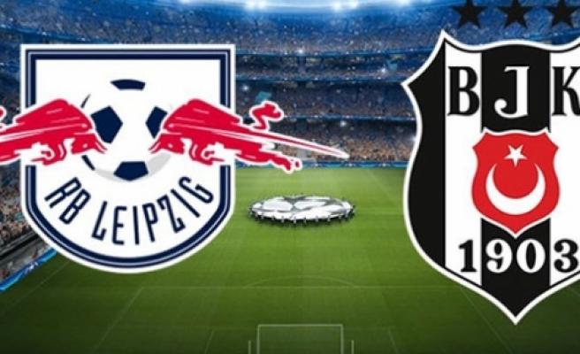 Beşiktaş Leipzig deplasmanında